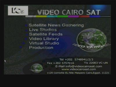 Video Cairo Sat feeds